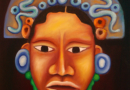 """""""Mayan Face"""" - Oil on canvas by Ana Luisa Rincon"""