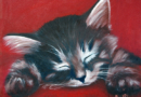 Nap Time - Oil on Canvas by Ana Luisa Rincon - 2008