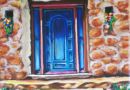 Bisbee Door - Oil on Canvas by Ana Luisa Rincon - 2010