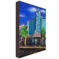 Tower Theatre Canvas Print
