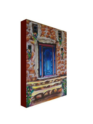 """Bisbee Door"" Print on Canvas"
